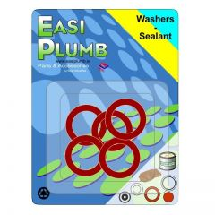 """Easi Plumb 3/4"""" Fibre Tap Connection Washer (Pack Of 5)"""
