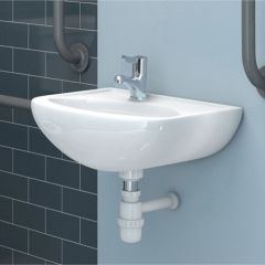 Less Abled 450mm 1 Taphole Basin (No Overflow)