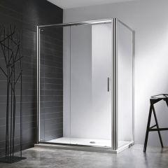 Rosery 6mm Sliding Shower Door