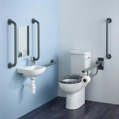 Contour 21+ Doc M Pack with Close Coupled Toilet
