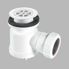 """McAlpine 1½"""" x 19mm Seal Shower Trap - 70mm White Flange"""