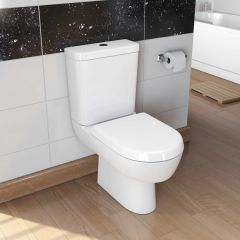 Madison Close Coupled Toilet with Soft Close Seat