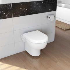 Madison Wall Hung Toilet Pan and Soft Close Seat