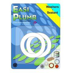 "Easi Plumb 1/2"" PVC Washers (Pack of 2)"