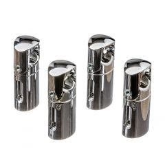 Lucca Curved Chrome Brackets