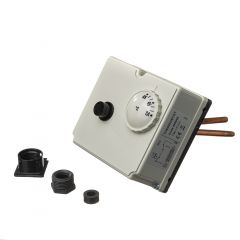 Altecnic Dual Immersion Thermostat 25-65° Range with 80°C Limit
