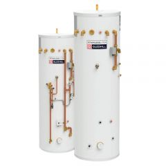 Gledhill Stainless Steel Pre-Plumbed 300/70L Heat Pump Buffer Cylinder