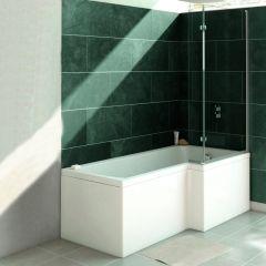 Verde 1700mm Bath Shower Front Panel