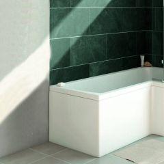 Verde 700mm Bath Shower End Panel