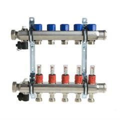 Polytherm 8 Port Underfloor Heating Manifold