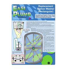 Easi Plumb Rectangular Replacement Siphon Washer