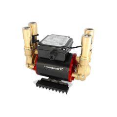 Grundfos STP 2 Bar Brass Positive Twin Impeller Shower Pump