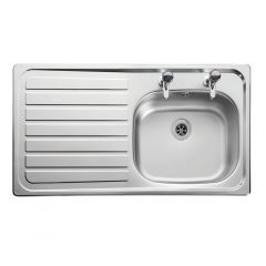 Lexin LE95R Inset Stainless Steel Sink Right Hand Drainer