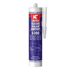 Griffon S100 Clear Sanitary Silicone