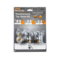 """1/2"""" Replacement Tap Head Kit (Victorian Pattern)"""