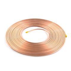 "15m Coil ½"" Plain Degreased Copper Pipe"