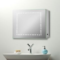 Gemini LED Cabinet with Demister, Shaver and Sensor (H500MMx W500MM)
