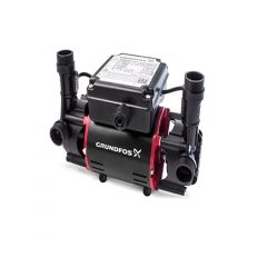 Grundfos STR2-1.5C PVC Positive Twin Impeller Shower Pump