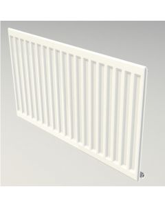 "Myson Premier HE 12"" high x 63"" Wide Single Panel Round Top Radiator"