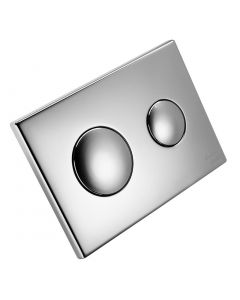 Conceala 2 Flush Plate Chrome Plated