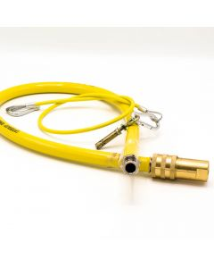 """1/2"""" X 1.00M Quick Release Cater Hose Bs669 Pt2"""