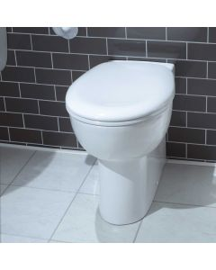 Atlas Smooth Back To Wall Toilet Pan and Seat