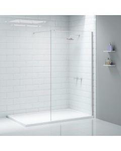 Merlyn Ionic Wetroom Shower Wall 600mm Chrome