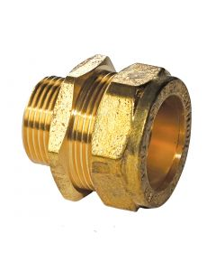 "Instantor 1¼"" x 1"" 311 Compression Fitting (Male Straight Coupler)"