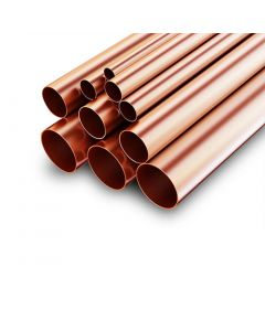 "5.5m Length ½"" Copper Pipe"