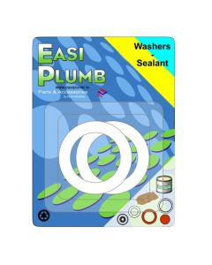 "Easi Plumb 1/2"" PVC Washers (Pack of 2)"