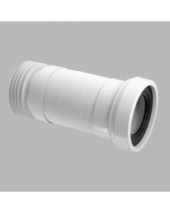 "McAlpline 4""/110mm Straight Flexible WC Connector (Long Length)"