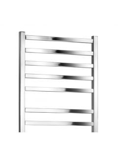 Lucca 800x500mm Straight Towel Rail (Chrome)