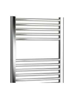 Lucca 800x600mm Curved Towel Rail (Chrome)
