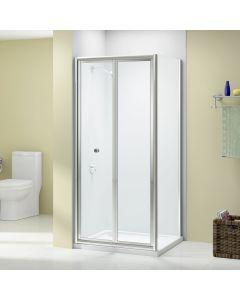 Merlyn Easy Fit Mycro 800mm Bifold Shower Door Shower Enclosure