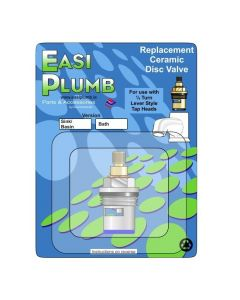 "Easi Plumb Single Replacement 3/4"" Ceramic Disc Valve (Blue)"