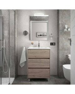 Salgar Floorstanding 3 Drawer Vanity Base Unit 810x460mm (Eternity)