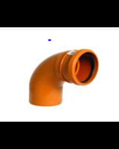 "4"" 90deg Single Socket Sewer Bend"