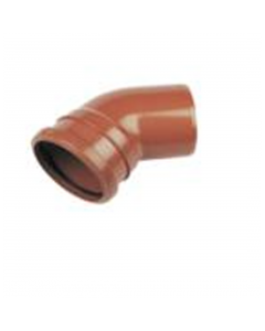 "4"" 45deg Single Socket Sewer Bend"