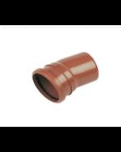 "4"" 15deg Single Socket Sewer Bend"