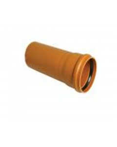 "Cork Plastics Socketed Sewer Pipe 4"" x 6m Lengths"
