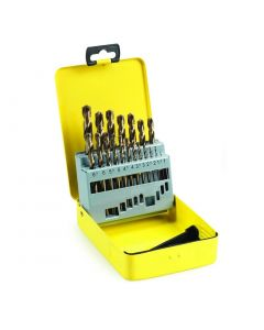 Timco 19 Piece Cobalt HSS-CO Drill Bit Set 1-10mm