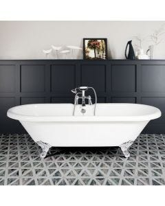 Double End Freestanding Bath (Traditional Feet)