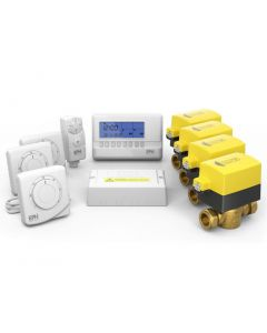 """EPH 3/4"""" 4 Zone Heating Control Pack (Hard Wired)"""