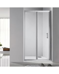 Rosery 900mm Bifold Shower Door with Easy Clean Glass