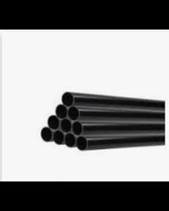 """Heat Merchants 1½"""" Black Waste Pipe 4mt"""