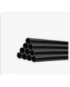 "Heat Merchants 1¼"" Black Waste Pipe 4mt"