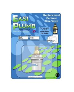 "Easi Plumb Single 1/2"" Replacement Ceramic Disc Valve (Blue)"