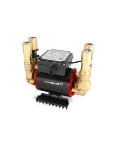 Grundfos STP 3 Bar Brass Positive Twin Impeller Shower Pump