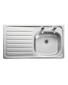 Lexin LE95L Inset Stainless Steel Sink Left Hand Drainer