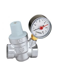 "Altecnic Series 5332 ½"" Pressure Reducing Valve with Pressure Gauge"